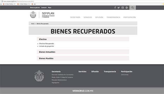 Recupera Veracruz más de mil 200 mdp desviados Javier Duarte