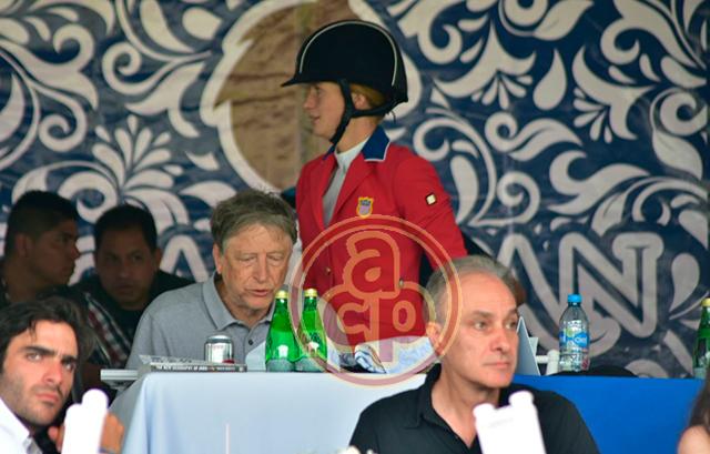 Bill Gates en hípico de Xalapa, Veracruz